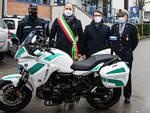 Consegnata una nuova moto alla Polizia Municipale di Asti