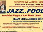 Domenica 7 marzo una giornata di Jazz food a Verduno