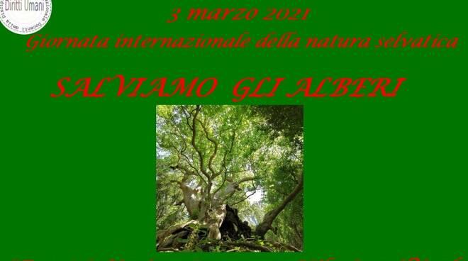 Giornata mondiale della natura selvatica 2021 locandina