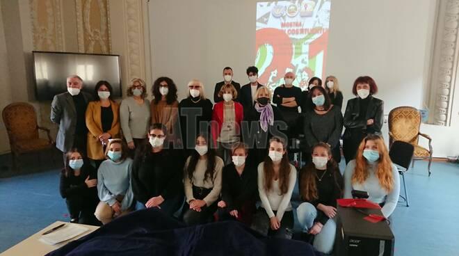 """Mostra Madri Costituenti all'Istituto Alfieri """"la parola agli studenti"""""""