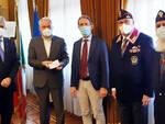 Asti, ricevuti in Prefettura il Questore e il Presidente dell'ANPS