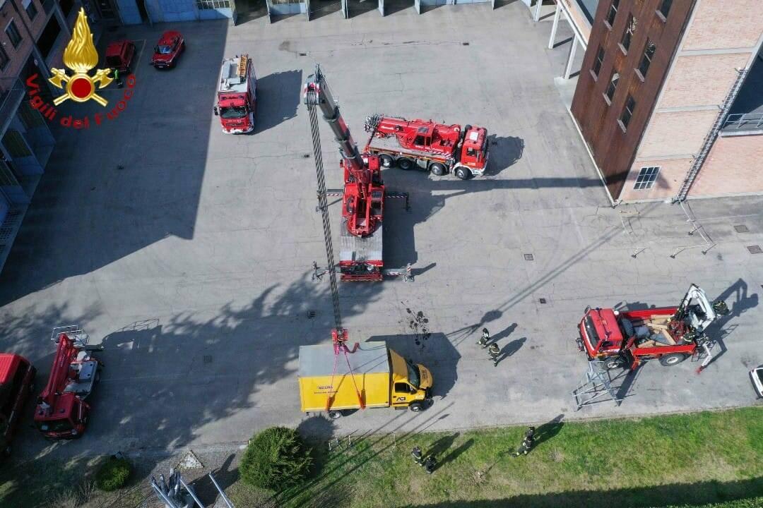 corso estensione autogru vigili del fuoco