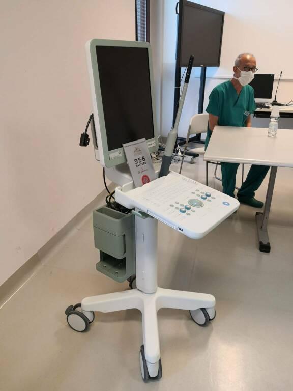 donazione ecografo ospedale asti