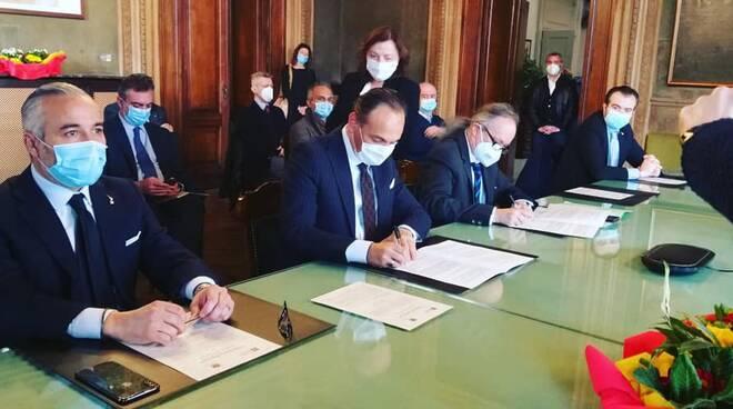 firma protocollo bacino del tanaro regione piemonte