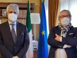Il Prefetto di Asti Alfonso Terribile ha ricevuto stamane il Direttore Generale dell'ASL-AT, dr. Flavio Boraso