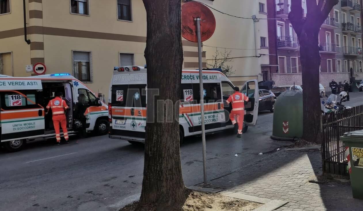 incidente corso venezia asti