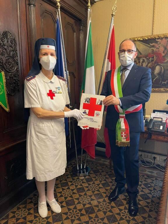 infermiere cri asti ricevute in comune sindaco rasero