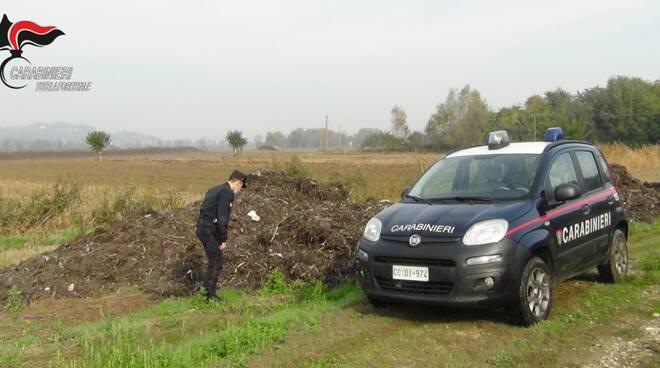 Operazione fertil plastic Carabinieri Forestali di Cuneo