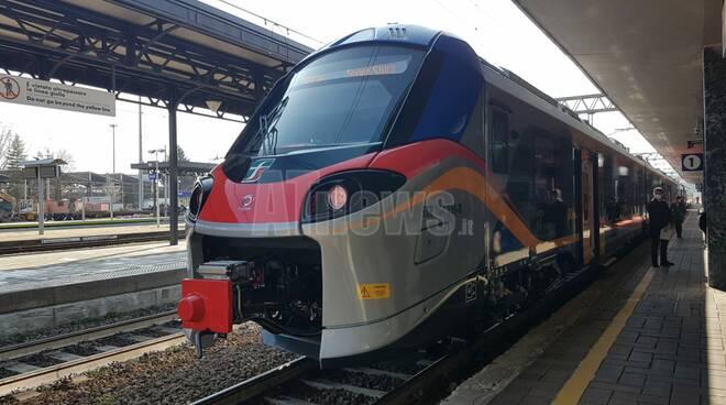 Presentazione ad Asti treno POP per le linee di Servizio Ferroviario Metropolitano