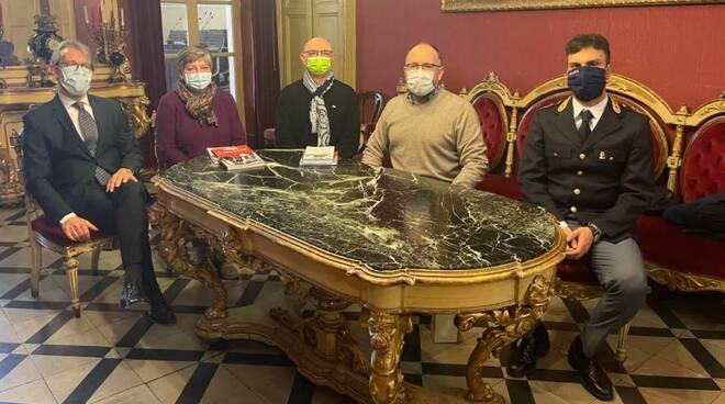 Ricevuti in Municipio neo pensionati della Questura di Asti