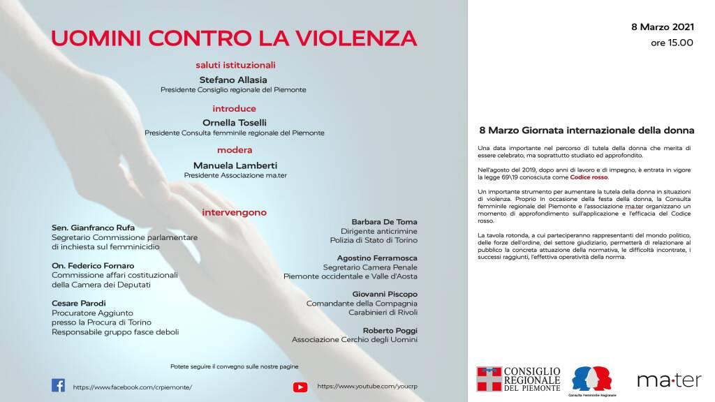 Uomini contro la violenza