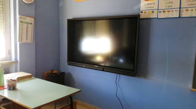Nuova lavagne interattive multimediali nelle scuole valcerrinesi