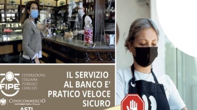 """Confcommercio Asti """"Consumazione al banco nei bar: intervenga il Mise"""""""