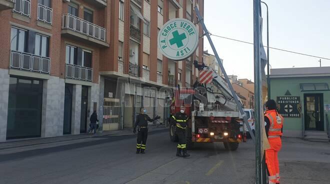 croce verde vigili del fuoco