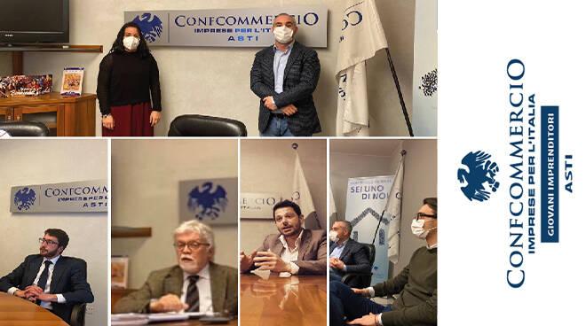 I Giovani Imprenditori di Confcommercio di Asti discutono dei nuovi progetti e allargano il direttivo