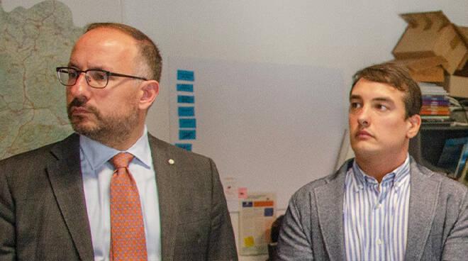 Il Sindaco Maurizio Rasero e l'assessore Marco Bona Intervengono con alcune precisazioni sul tema del sistema di videosorveglianza