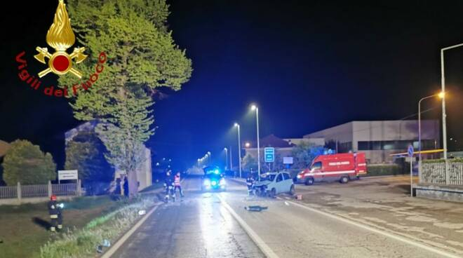 incidente villafranca d'asti