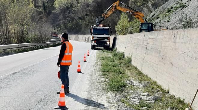 lavori strade provinciale valle bormida astigiana