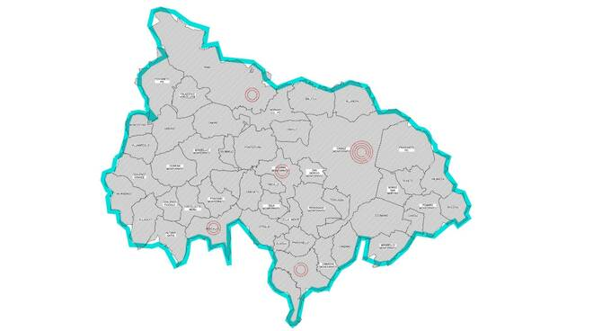 mappa distretto asl casale