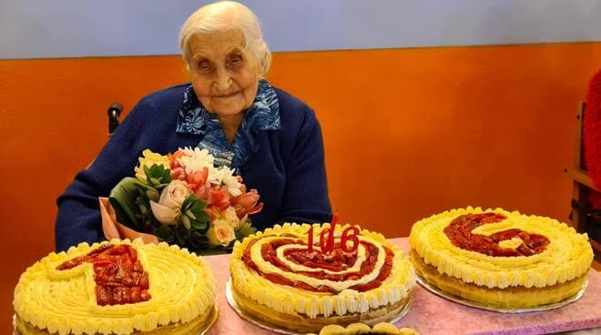 margherita bain 106 anni