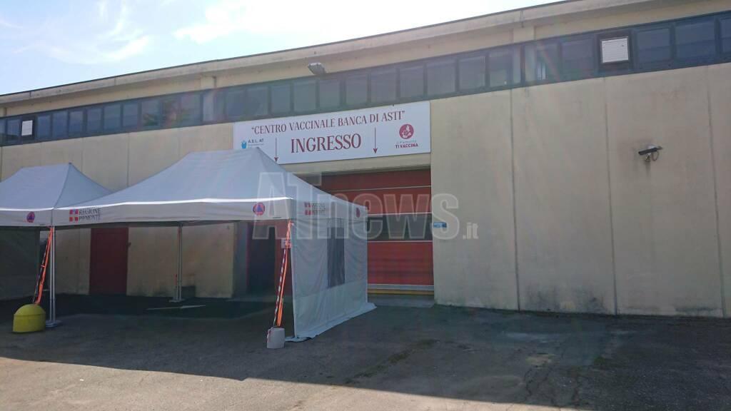 Nuovo centro vaccinazioni Asti