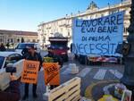 protesta ambulanti e commercianti Asti