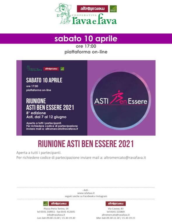 Verso Asti BenEssere 2021