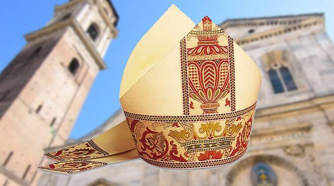 vescovo, mitra, vescovi