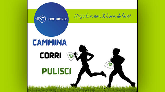 "Al via la Campagna ""Cammina, corri, pulisci"" di One World"