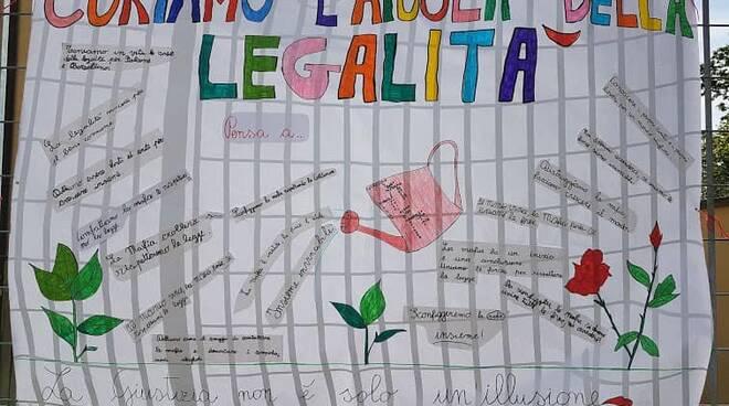 Giornata della legalità nelle scuole del comprensivo di Cerrina