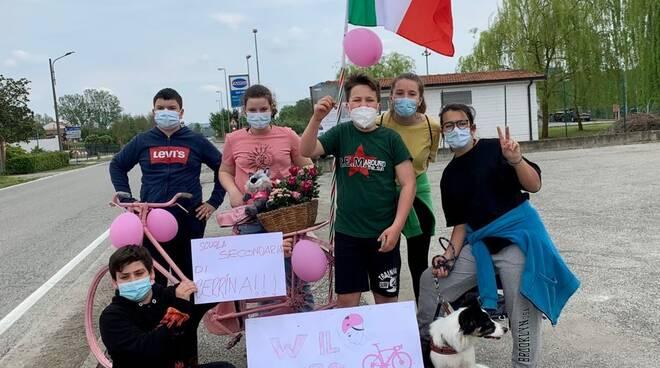 Il Comprensivo di Cerrina per il Giro d\'Ialia