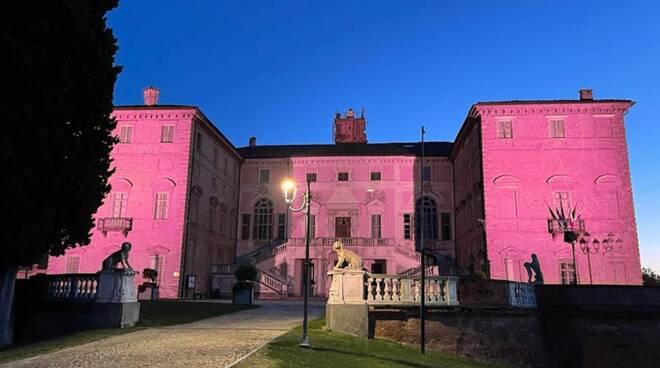 castello di govone rosa