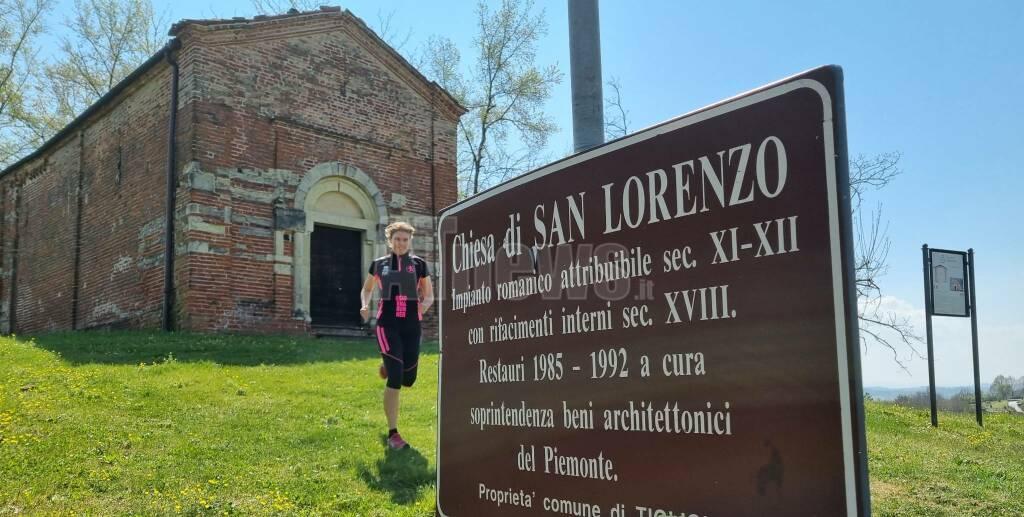 chiesa romanica di san lorenzo tigliole giornarunner