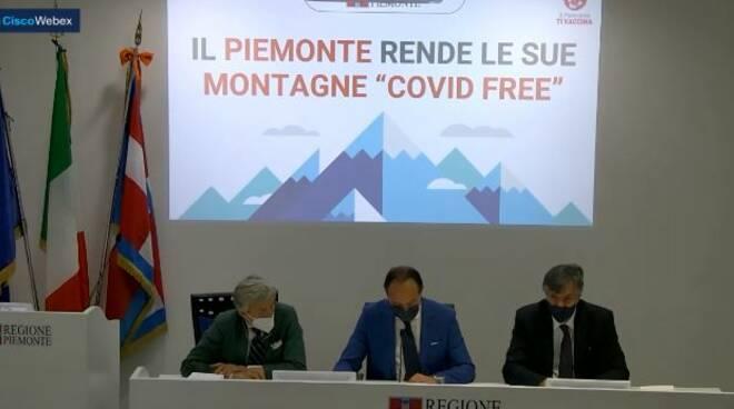 conferenza piemonte montagne covid free
