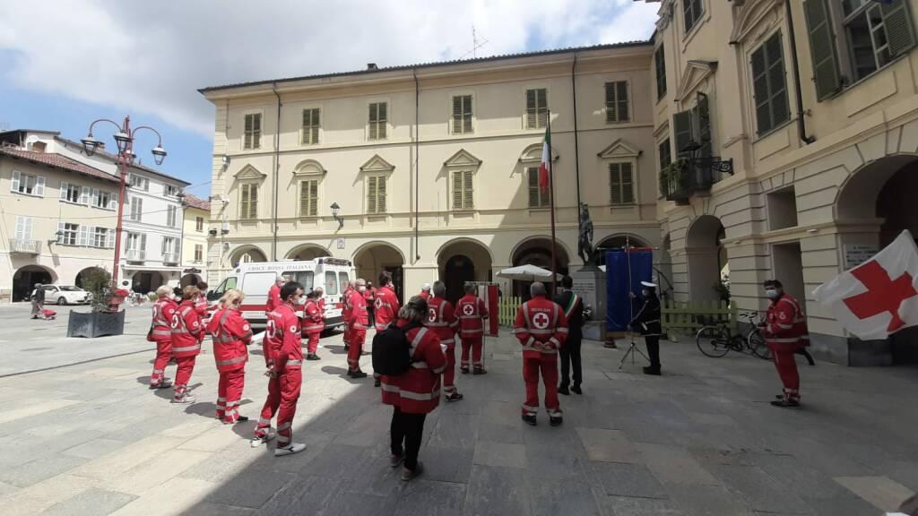 Giornata mondiale della Croce Rossa 2021 a San Damiano d'Asti