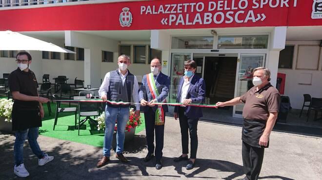 inaugurazione bar palabosca