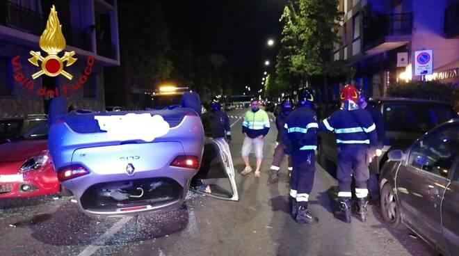 incidente corso savona