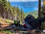 incidente funivia stresa foto soccorso alpino