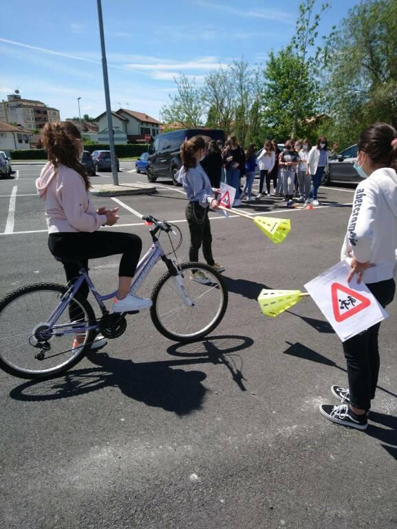 Progetto Back2bike Scuole Medie Dalla Chiesa di Nizza Monferrato