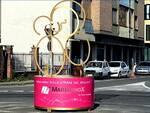 scultura giro d'italia canelli