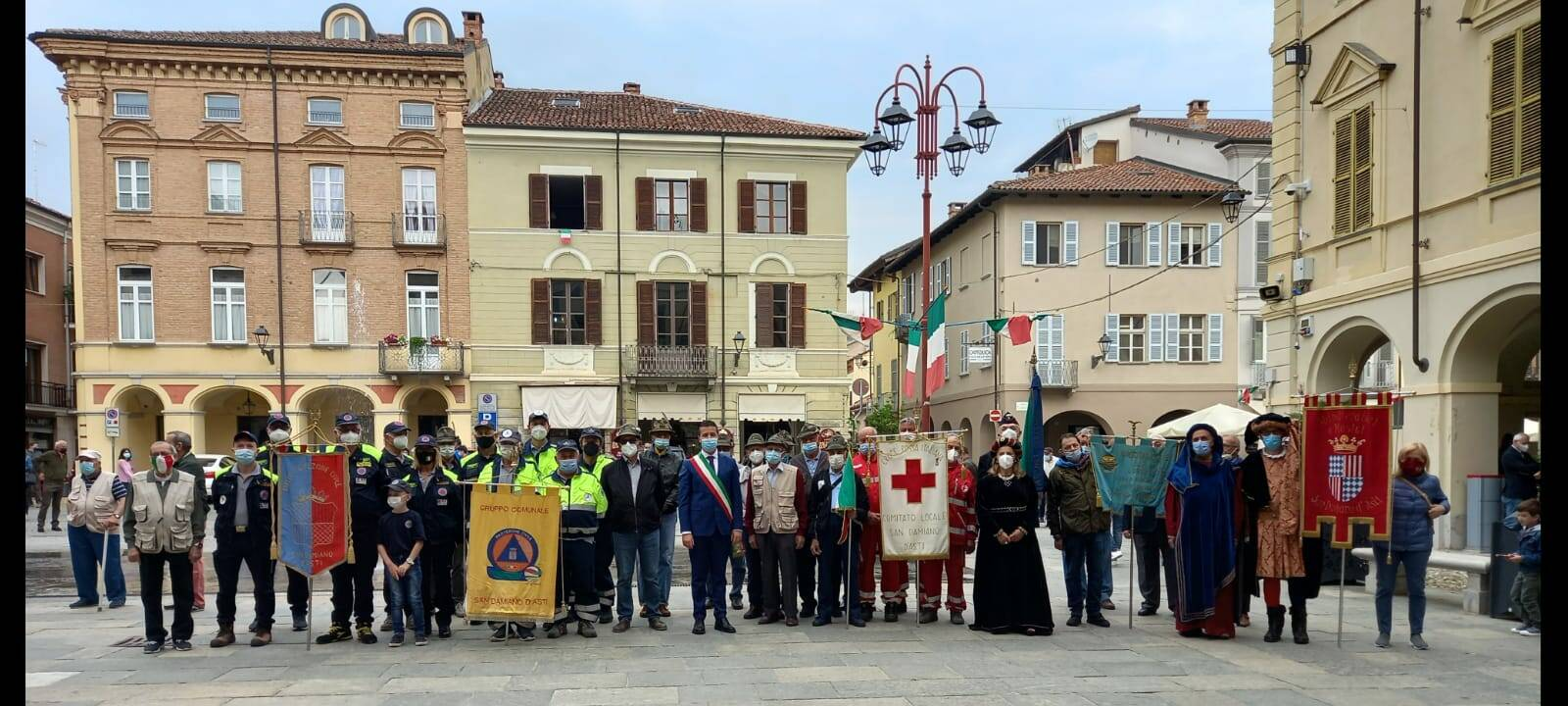 Festa della Repubblica 2021 San Damiano d'Asti