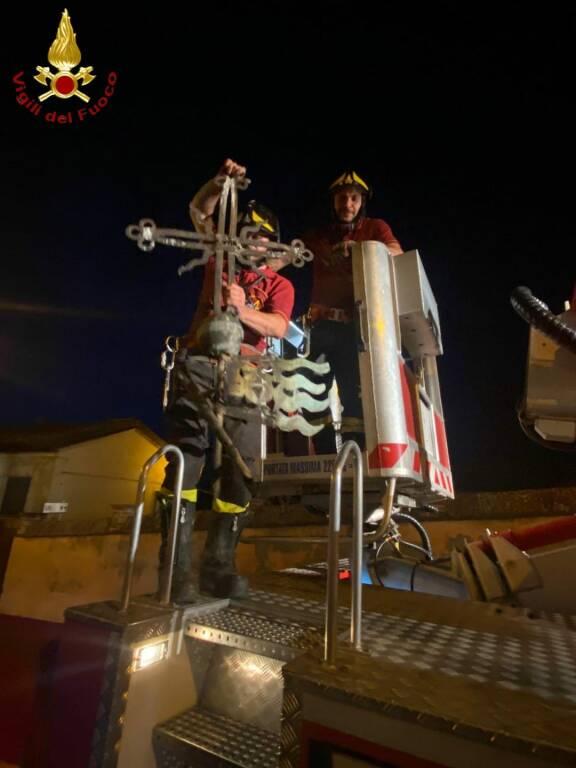 Interventi Vigili del fuoco maltempo 20062021