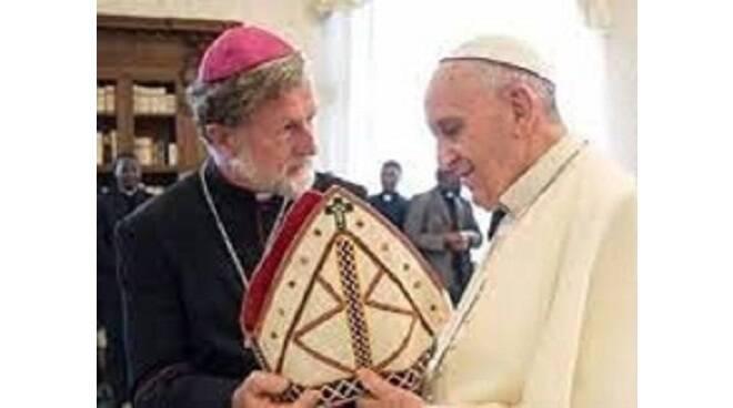 monsignor pante e papa francesco