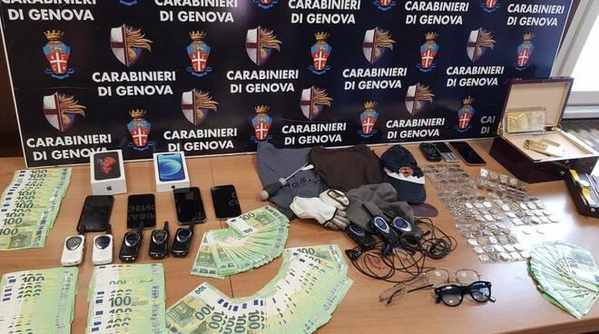 operazione top gun carabinieri genova