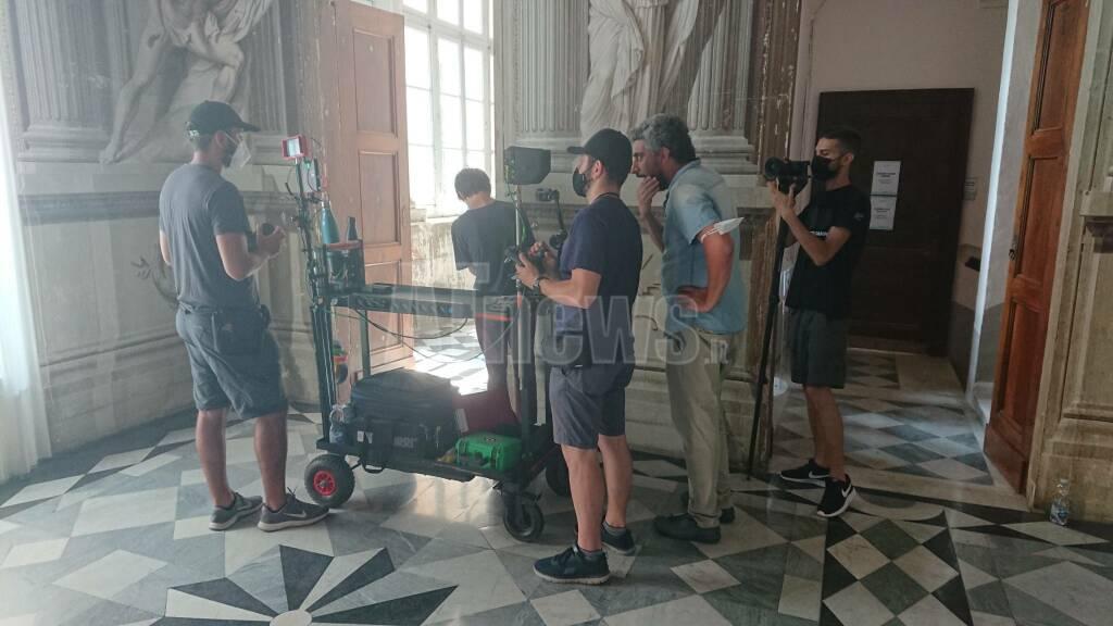 Progetto Ciak! Piemonte che spettacolo - backstage Castello Reale di Govone