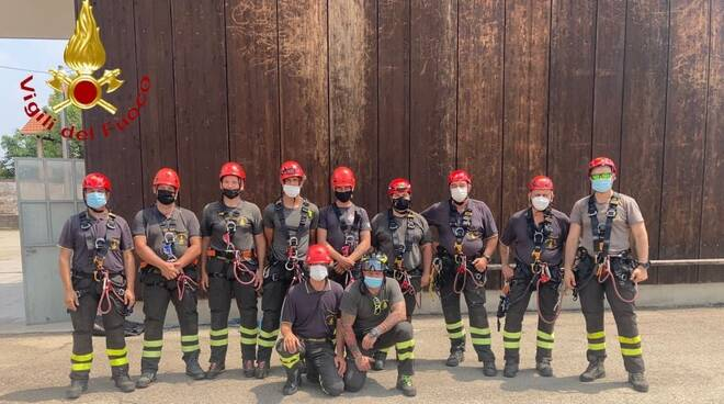 vigili del fuoco asti formazione pacchetto SAF