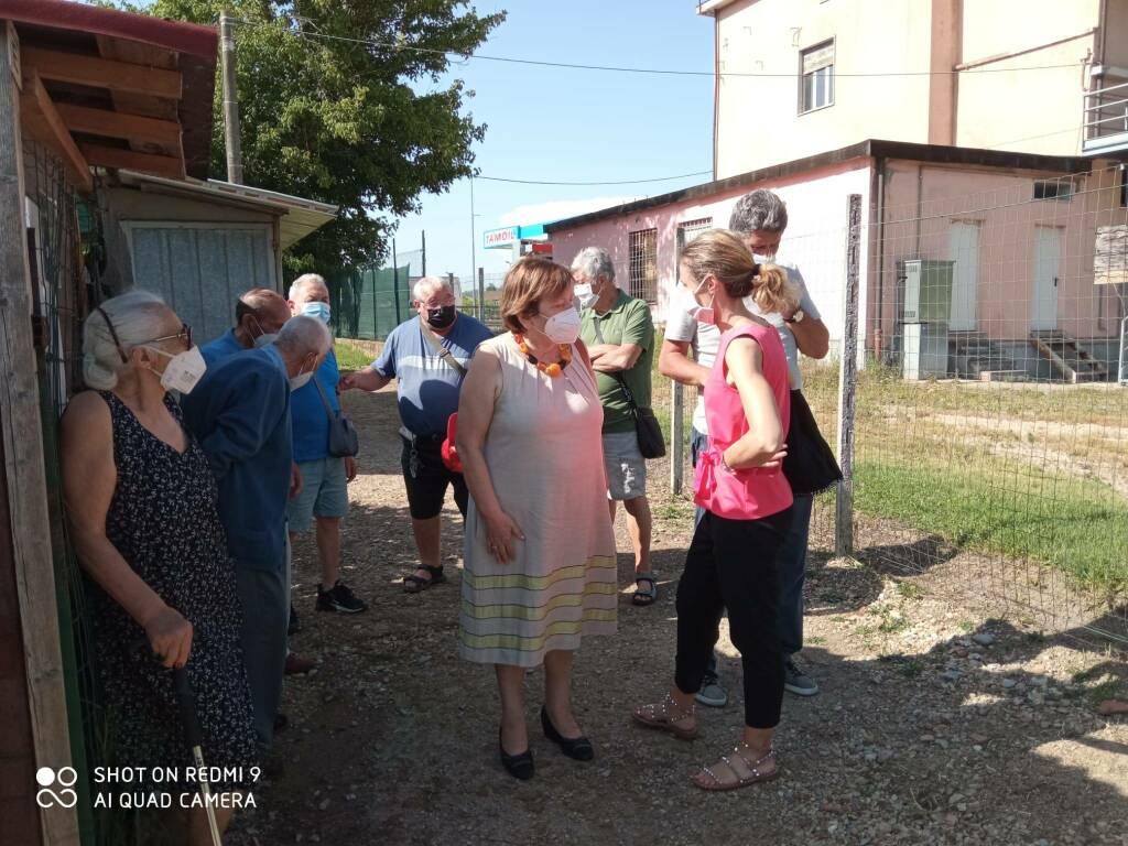 visita orti sociali torretta