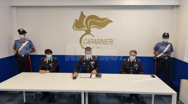Conferenza stampa carabinieri 23072021