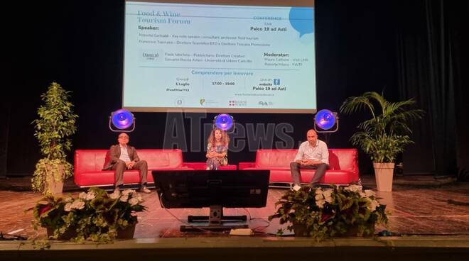 Food & Wine Tourism Forum 2021 evento finale Asti