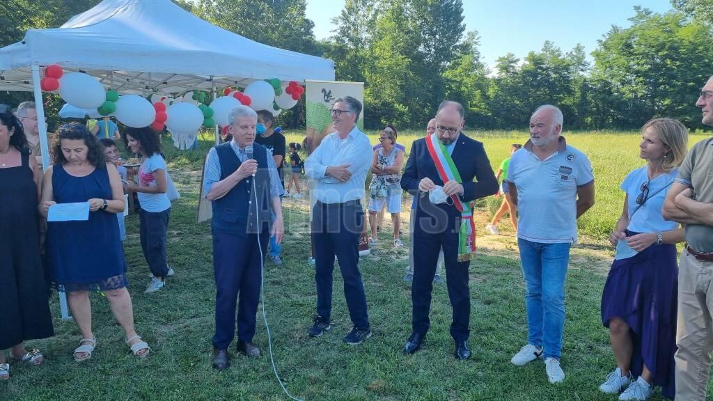 Inaugurazione campo calcetto e parco giochi Valleandona